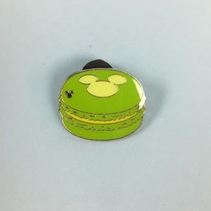 Green Macroon Hidden Mickey Pin